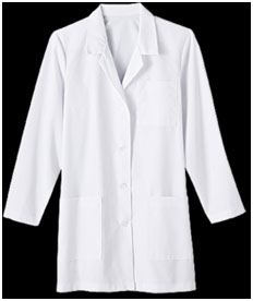 uniforms lab coat