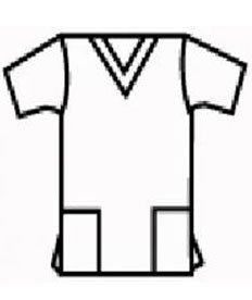 uniforms scrub top